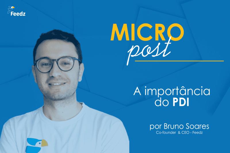 [MicroPost] A importância do PDI