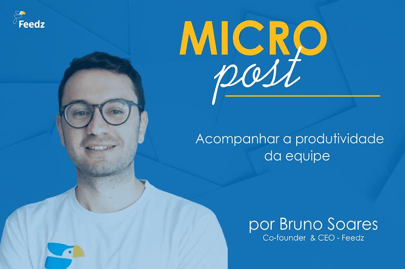 [MicroPost] Acompanhar a produtividade da equipe